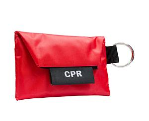 CPR Key Ring w/ One Way Valve (w/ Gloves)
