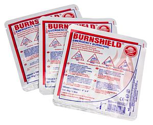 "Burn Dressing, 4"" x 4"", Dispenser Pack / 15"