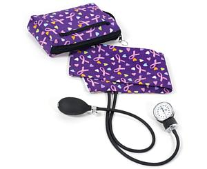Premium Aneroid Sphygmomanometer With Carry Case, Adult, Love and Believe, Print