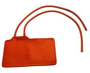 Adult Size Latex-Free Two-Tube Bladder, Orange