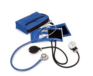 Aneroid Sphygmomanometer / Clinical Lite Stethoscope Kit, Adult, Royal