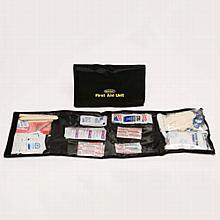 Folding First Aid Kit Contents (124 piece)