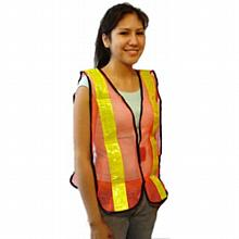 Safety Vest--Nylon w/High reflective tape