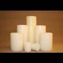 "6"" Vanilla Sandalwood Pillar"