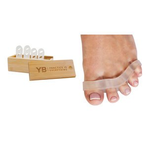 Awesome Toes!® Toe Spreaders & Separators x2 Pair in Stylish Wooden Box