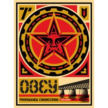"Obey Giant ""20 Year Retro Series - Engineering"" Signed, Large Format Screen Prints"