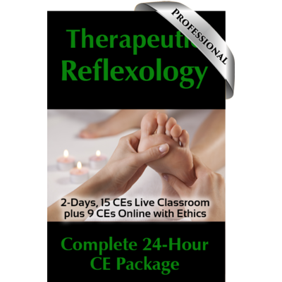 Therapeutic Reflexology Professional Course Package