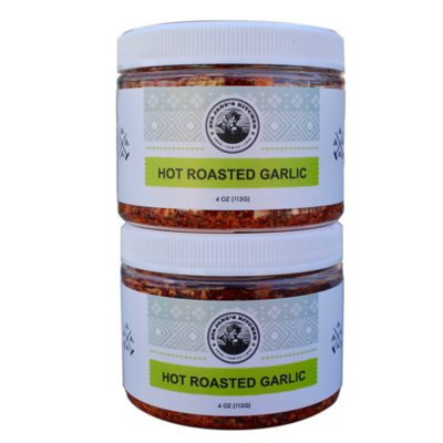 Hot Roasted Garlic 2 Pack