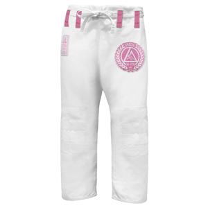 Pink Pearl Weave Gi Pants (Women)