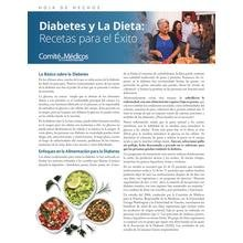 Diet and Diabetes: Recipes for Success (Spanish Language)